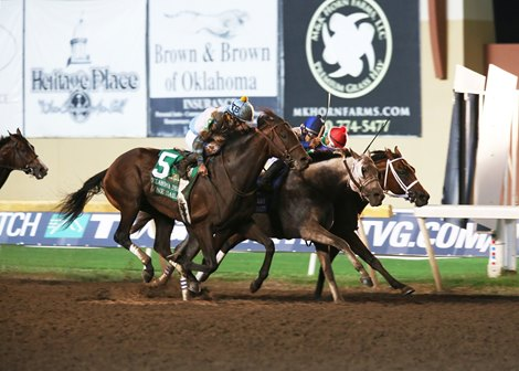 Lone Sailor Victorious at Last in Oklahoma Derby