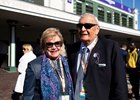 Patricia Generazio and her husband, Frank, during the 35th Breeders' Cup on Saturday, Nov. 3, 2018, at Churchill Downs, in Louisville, Kentucky.
