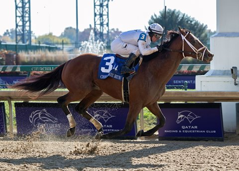 Audible Returns With Facile Victory in Cherokee Run - BloodHorse