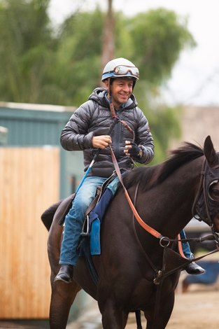 Victor Espinoza Finishes Second in Return to Racing
