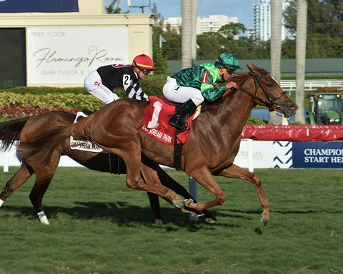 Precieuse Returns From Layoff to Win Honey Fox