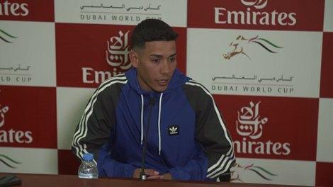 Dubai World Cup: Jose Ortiz