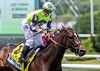 Rushing Fall will face three stablemates, including champion Sistercharlie, in the Diana Stakes July 13 at Saratoga Race Course