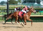 Phantom Boss wins the Bashford Manor Stakes at Churchill Downs