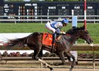 Elate soars clear to win the Delaware Handicap at Delaware Park