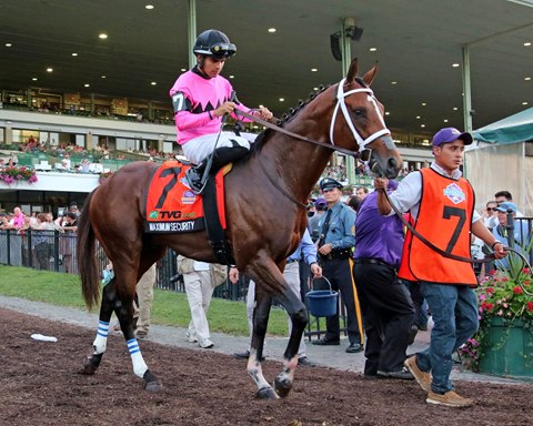 Maximum Security Puts in Two-Minute Mile at Monmouth