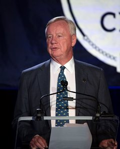 The Jockey Club chairman Stuart Janney III at the 2019 Round Table
