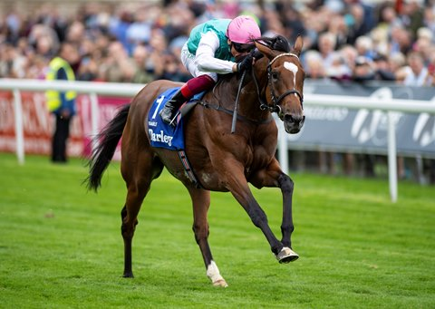 Enable Shines in Yorkshire Oaks Triumph