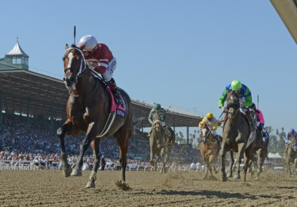 Tapizar wins the 2012 Breeders' Cup Dirt Mile