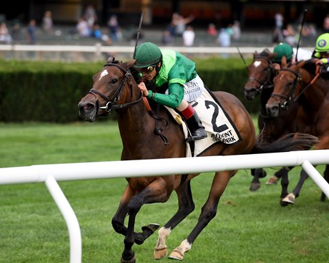 Blowout Blows Them Away in Belmont's Pebbles Stakes