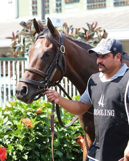 Dennis' Moment Tops Breeders' Cup Workers at Churchill