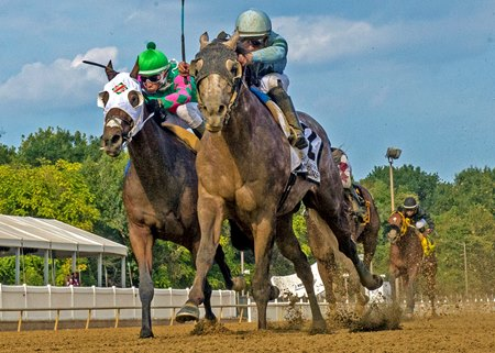 Killybegs Captain wins the Frank J. De Francis Memorial Dash Stakes at Laurel Park