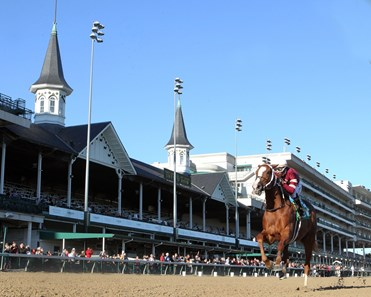 Finite wins 2019 Rags To Riches Overnight Stakes at Churchill Downs