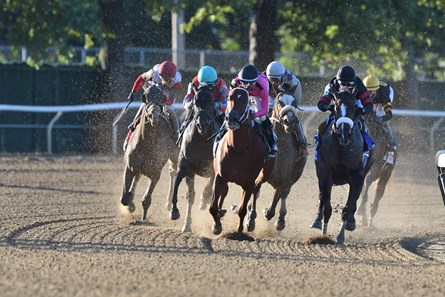 Tiz the Law wins the Champagne Stakes at Belmont Park