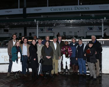 Finite wins the 2019 Golden Rod Stakes at Churchill Downs
