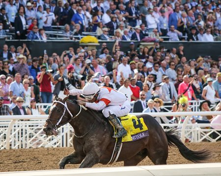 Mitole wins the Breeders' Cup Sprint at Santa Anita Park