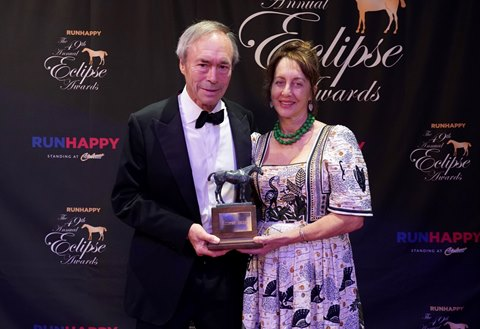 A Breakthrough Eclipse for Top Breeder Strawbridge