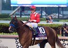 Mucho Gusto and Irad Ortiz Jr. return after winning the Pegasus World Cup at Gulfstream Park