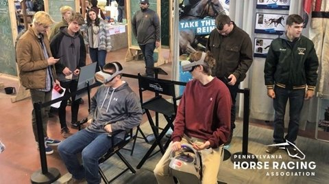 Virtual Reality Experience Puts Participants in Saddle