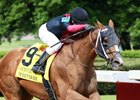 Whitmore wins the Count Fleet Sprint Handicap at Oaklawn Park