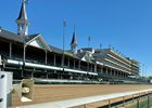 Churchill Downs grandstand, May 1, 2020