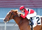 Piece of My Heart wins the Gardenia Stakes at Oaklawn Park