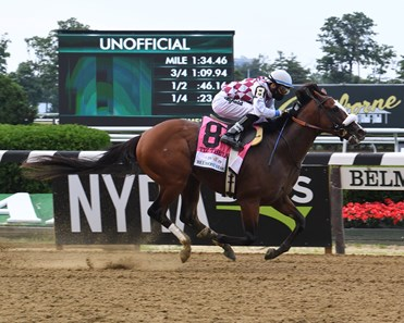 Tiz the Law wins the 2020 Belmont Stakes