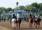 Haskell Day at Monmouth Park generated a record handle for the track on a non-Breeders' Cup Day of nearly $20.5 million