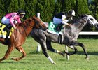 Halladay turns back Got Stormy to win the Fourstardave Handicap at Saratoga Race Course