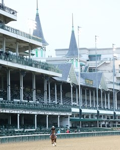 Swiss Skydiver - Gallop - Churchill Downs - 083120
