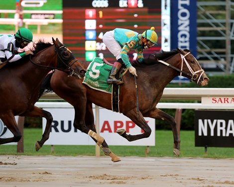 Fire At Will Scores First Stakes in With Anticipation