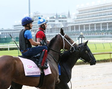 Shedaresthedevil - Gallop - Churchill Downs - 090220