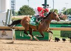 Sconsin wins the Eight Belles Stakes at Churchill Downs
