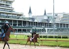 Gamine is the even-money morning-line favorite for the Kentucky Oaks at Churchill Downs