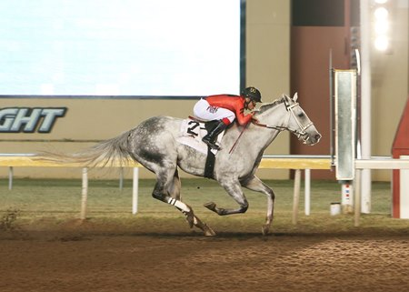 Welder wins the 2020 Silver Goblin Stakes at Remington Park