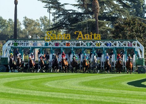 Expected Rain Leads to Jan. 29 Santa Anita Cancellation