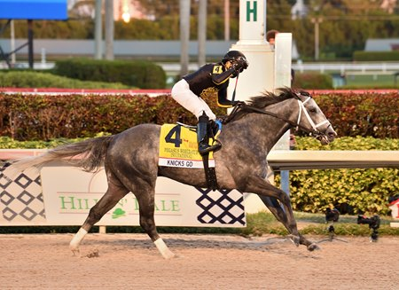 Knicks Go wins the Pegasus World Cup Invitational at Gulfstream Park